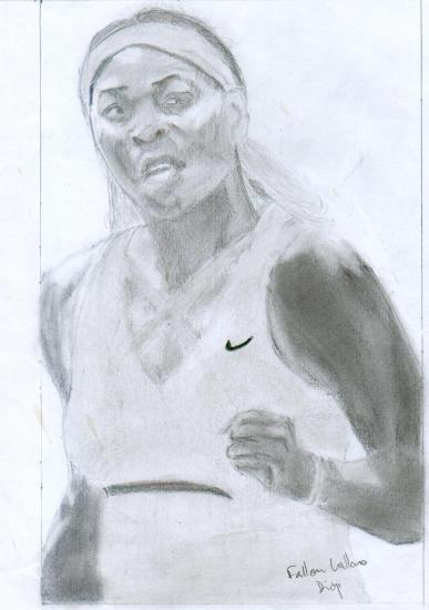 Serena Williams por falloudiop